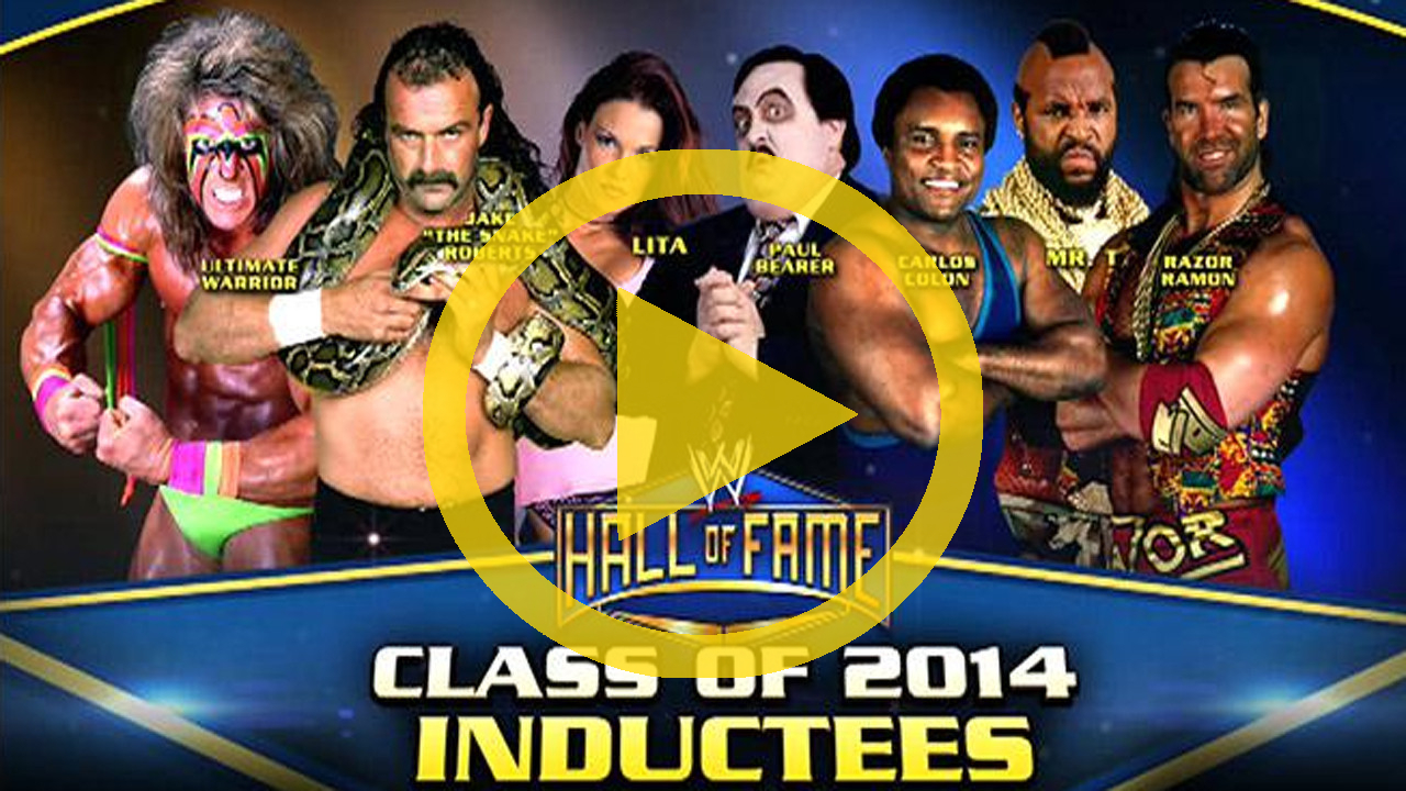 WWE Hall Of Fame 2014 (2014) - Official HD TrailerWwe Hall Of Fame 2014 Inductees