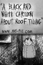 A Black and White Cartoon About Roof Tiling Trailer