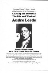 A Litany for Survival: The Life and Work of Audre Lorde Trailer
