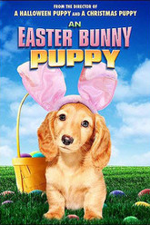 An Easter Bunny Puppy Trailer