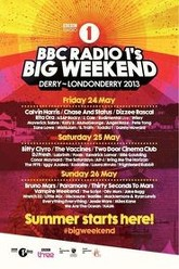Bruno Mars - BBC Radio 1's Big Weekend 2013 Derry-Londonderry Trailer