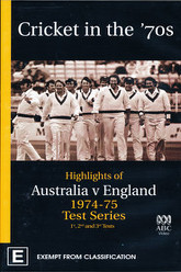 Cricket in the '70s: Australia v England 1974-75 Test Series (1st, 2nd and 3rd Tests) Trailer
