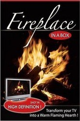 Fireplace in a Box Trailer