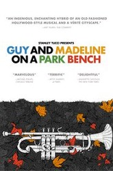 Guy and Madeline on a Park Bench Trailer