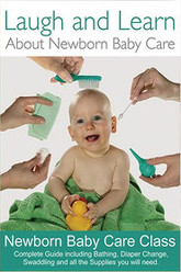 Laugh and Learn About Newborn Baby Care Trailer