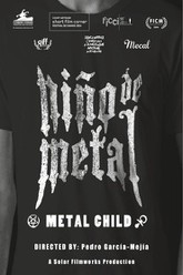 Metal Child Trailer