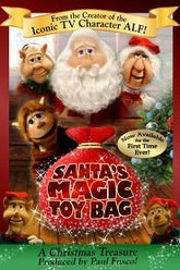 Santa's Magic Toy Bag Trailer