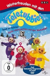 Teletubbies and the Snow Trailer