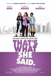 That's What She Said Trailer