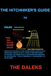 The Hitchhiker's Guide to the Daleks Trailer