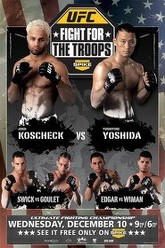 UFC Fight Night: Fight for the Troops Trailer