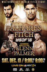 World Series of Fighting 16: Palhares vs. Fitch Trailer